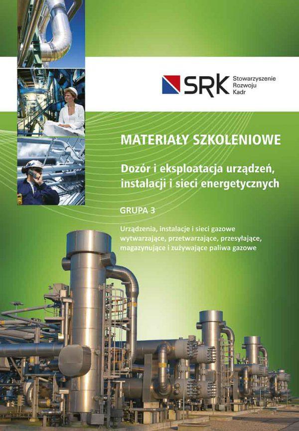 materiały szkoleniowe grupa 3 gaz dozór eksploatacja egzamin sep simp książka